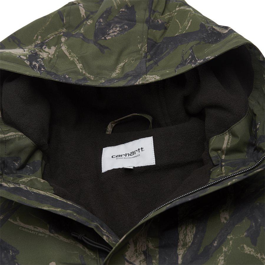 NIMBUS PULLOVER I027639 - Nimbus Pullover Jacket - Jakker - Regular - CAMO GREEN - 5